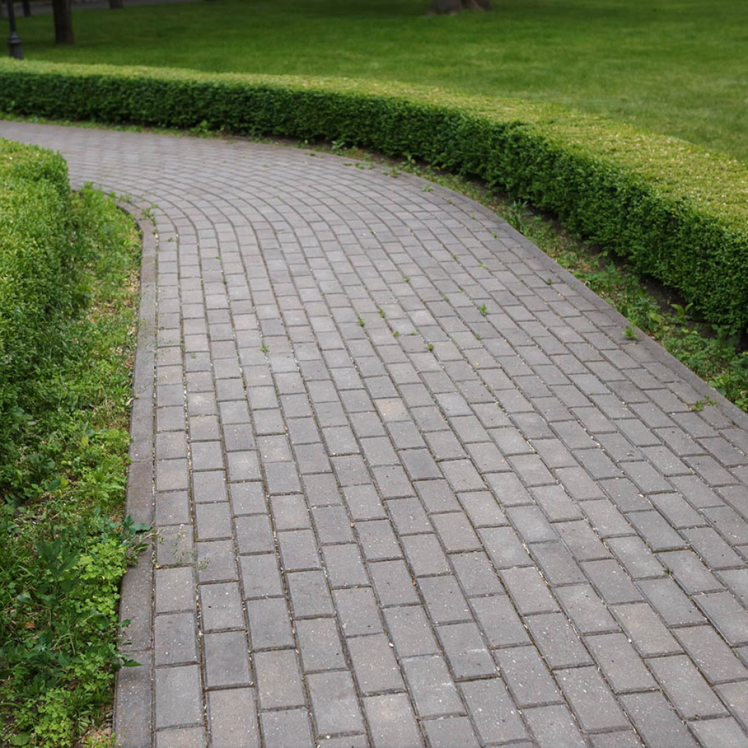Keep your sidewalk and house from clashing